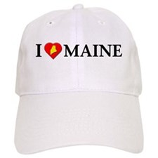 I love Maine Baseball Cap