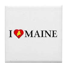 I love Maine Tile Coaster