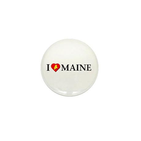 I love Maine Mini Button