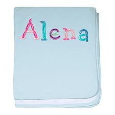 Alena Princess Balloons baby blanket