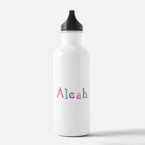 Aleah Princess Balloons Water Bottle