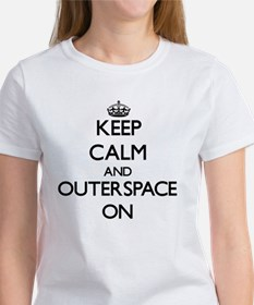 Keep Calm and Outerspace ON T-Shirt