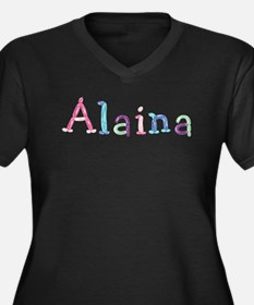 Alaina Princess Balloons Plus Size T-Shirt