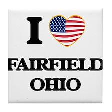 I love Fairfield Ohio Tile Coaster