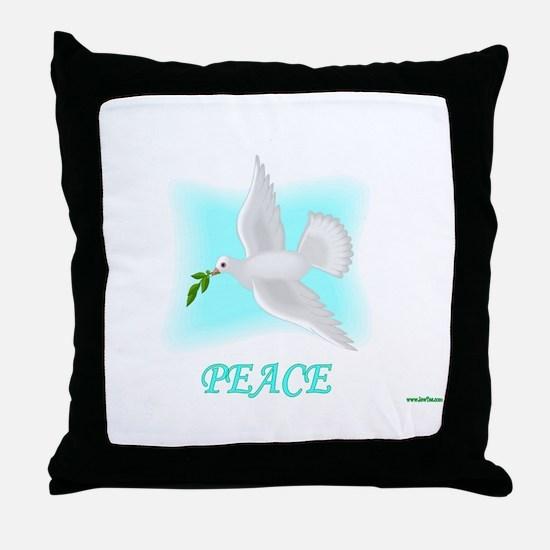 Jewish New Year Peace Throw Pillow