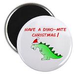 DINO-MITE CHRISTMAS Magnet