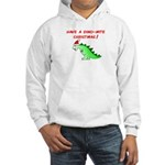 DINO-MITE CHRISTMAS Hooded Sweatshirt