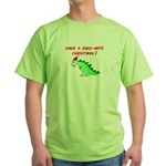 DINO-MITE CHRISTMAS Green T-Shirt