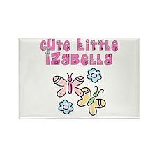 Cute Little Izabella Rectangle Magnet