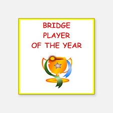 a funny bridge joke on gifts and t-shirts. Sticker