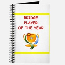a funny bridge joke on gifts and t-shirts. Journal