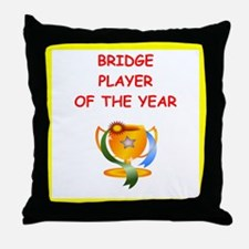 a funny bridge joke on gifts and t-shirts. Throw P
