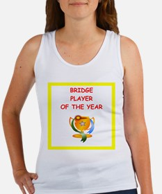 a funny bridge joke on gifts and t-shirts. Tank To