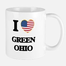 I love Green Ohio Mugs