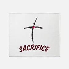 Sacrifice Throw Blanket