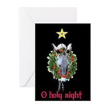 DONKEY CHRISTMAS Greeting Cards (Pk of 10)
