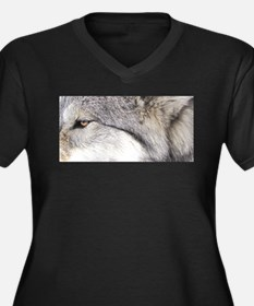 WOLF GREY.jpg Plus Size T-Shirt