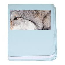 WOLF GREY.jpg baby blanket