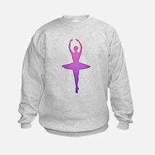 Ballerina Sillouette Sweatshirt