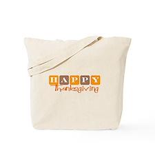 Happy Thanksgiving (Retro) Tote Bag