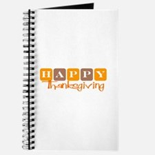 Happy Thanksgiving (Retro) Journal