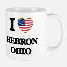 I love Hebron Ohio Mug