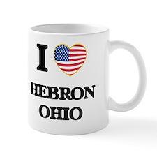 I love Hebron Ohio Small Mugs
