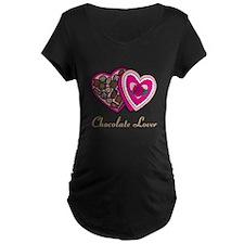 Chocolate Lover Maternity T-Shirt