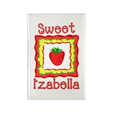 Sweet Izabella Rectangle Magnet