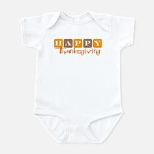 Happy Thanksgiving (Retro) Infant Bodysuit