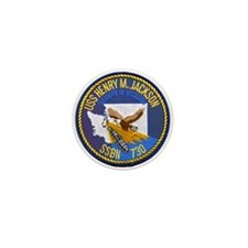 USS HENRY M. JACKSON Mini Button