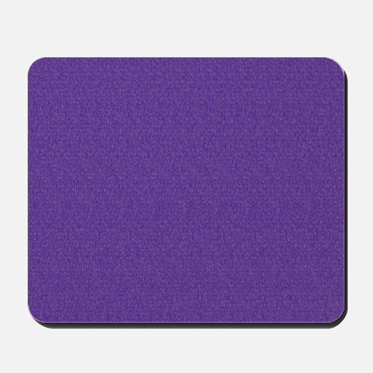 Solid Purple Glimmer Mousepad