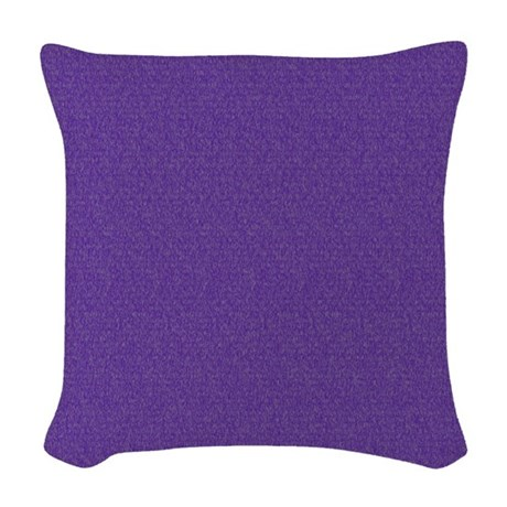 Solid Purple Decorative Pillows : Solid Purple Glimmer Woven Throw Pillow by Admin_CP11861778