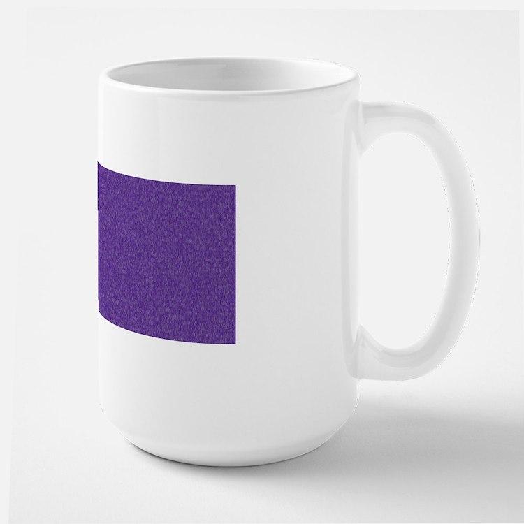 Solid Purple Glimmer Mugs