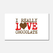 Love Chocolate Car Magnet 20 x 12