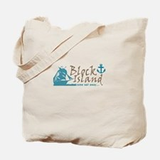 Block Island Sail Away Tote Bag