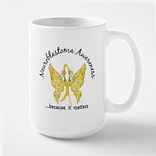 Neuroblastoma Butterfly 6.1 Mug