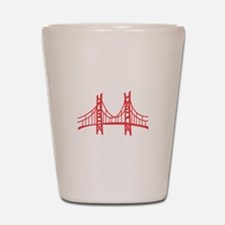 Golden Gate Shot Glass