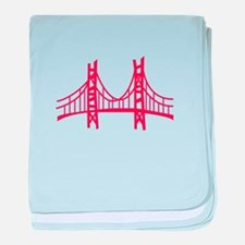 Golden Gate baby blanket