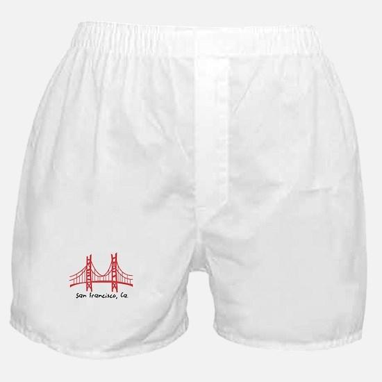 San Francisco Boxer Shorts