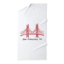 San Francisco Beach Towel
