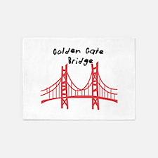 Golden Gate Bridge 5'x7'Area Rug