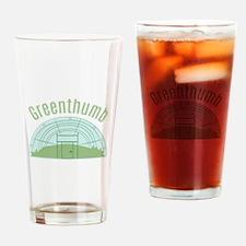 Greenthumb Drinking Glass