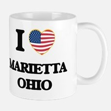 I love Marietta Ohio Mug