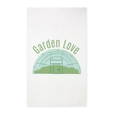 Garden Love Area Rug