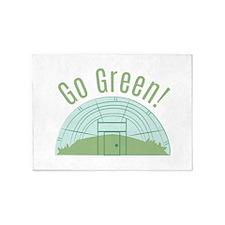 Go Green! 5'x7'Area Rug