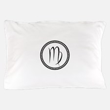 Virgo Symbol Pillow Case