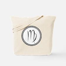 Virgo Symbol Tote Bag