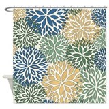 Retro 70s Shower Curtains