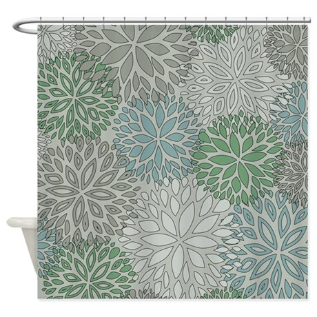 gray and green shower curtain. gray and green shower curtains fabric curtain n